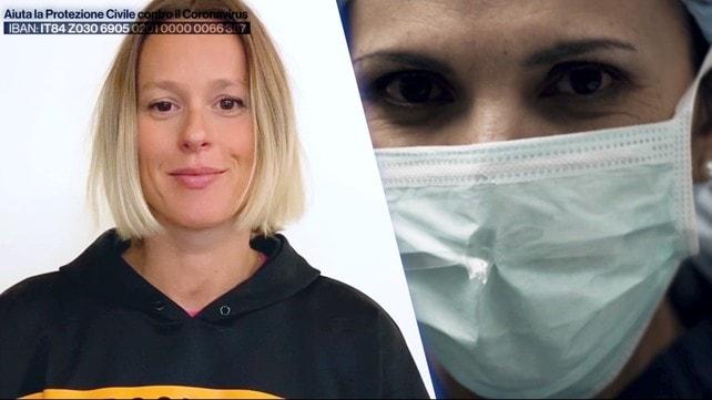 Lo sport olimpico italiano unito al fianco del personale medico e paramedico italiano