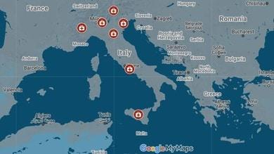 Coronavirus, Google Maps monitora gli spostamenti degli italiani
