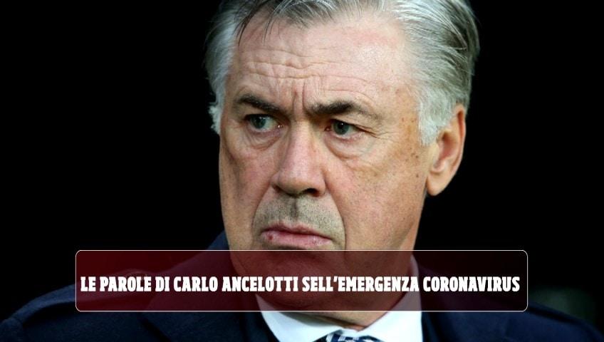 """Ancelotti: """"Negare titolo al Liverpool? Avrebbero ragione a lamentarsi ma prima la vita"""""""