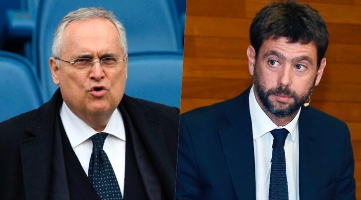 Taglio degli stipendi: toh, stavolta Lotito applaude Agnelli