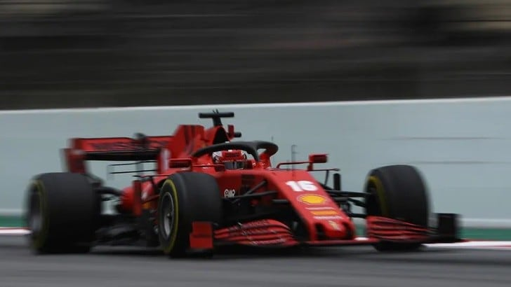 Charles Leclerc vince in F1 Virtual GP