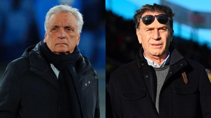 Cellino attacca Lotito e Diaconale risponde: