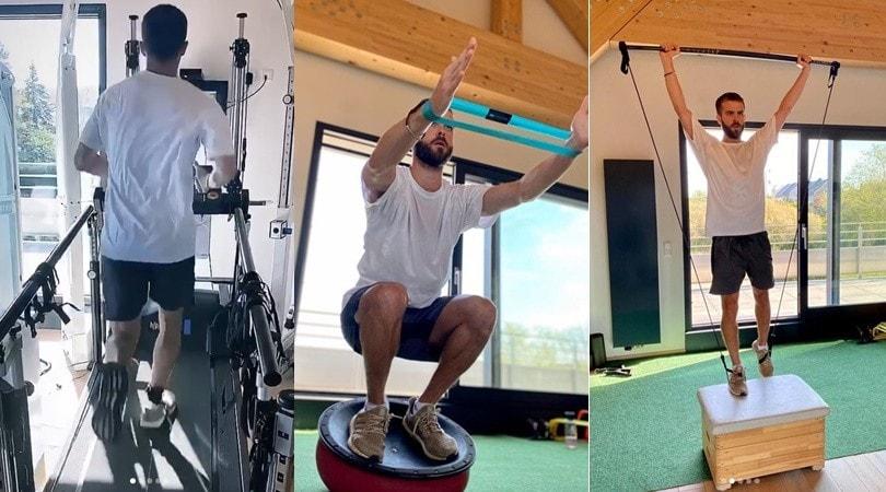 Juve, Pjanic non si ferma: duro allenamento in quarantena