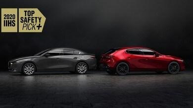 Sicurezza: Mazda fa il pieno di Top Safety Pick+