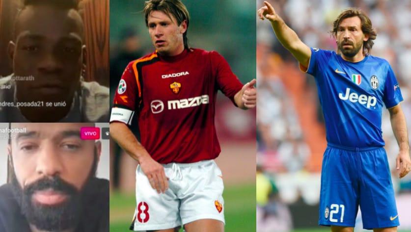 Cassano sì, Cristiano Ronaldo no: la Top 11 di Balotelli
