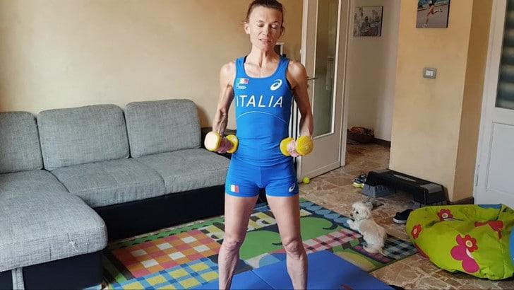 Coronavirus: l'azzurra Valeria Straneo e l'allenamento a casa da seguire