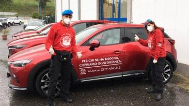 Coronavirus, Mazda: supporto a City Angels e Protezione Civile
