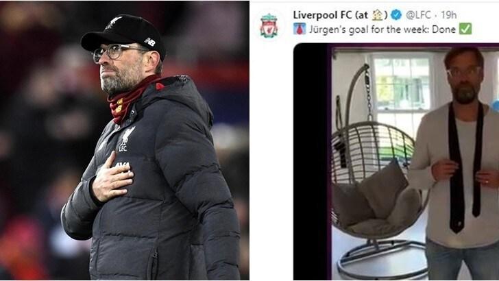 Liverpool, la quarantena di Klopp: