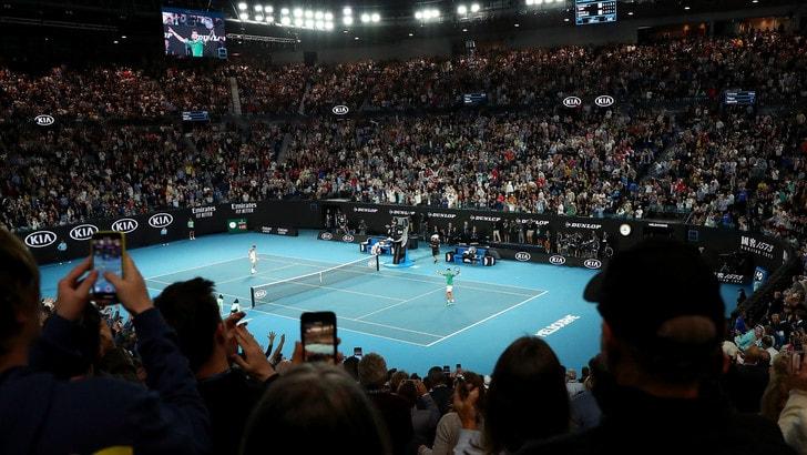 Australian Open, ipotesi di stop fino al 2022