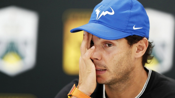 Nadal si ritira dal torneo virtuale di Madrid: infortunio alla schiena