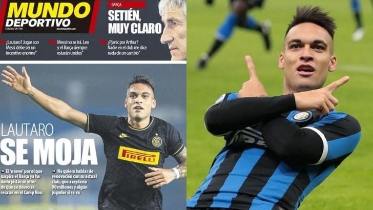 """Mundo Deportivo: """"Lautaro Martinez ha scelto il Barcellona"""""""