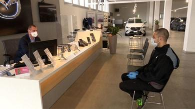Mazda, riaprono le concessionarie: sicurezza al primo posto