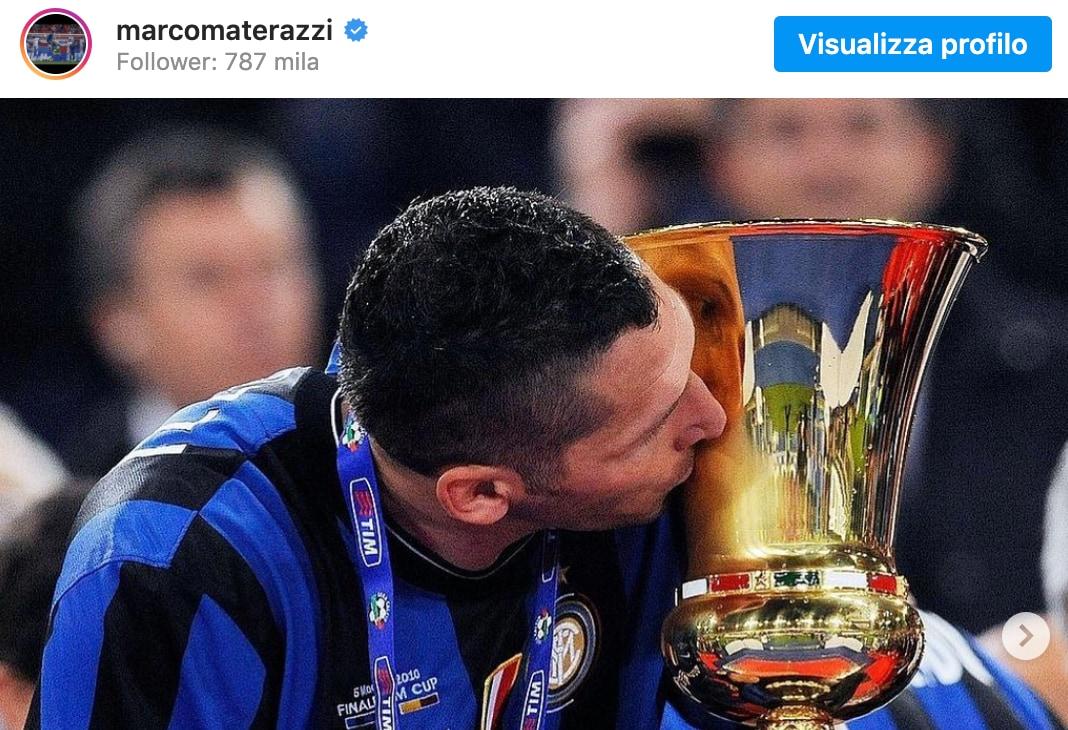 Materazzi, lo sfottò sul 5 maggio fa arrabbiare i tifosi della Juve