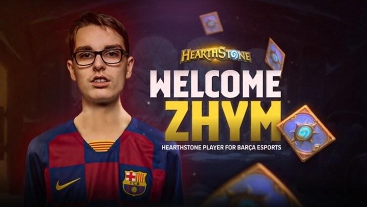 Il francese Zhym firma per il Barcellona