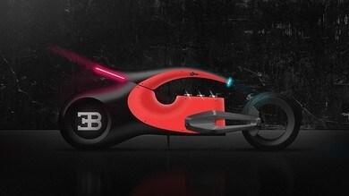 Audacieux, la moto immaginaria di Bugatti FOTO