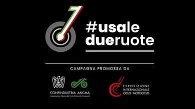 #usaledueruote, una campagna per ripartire