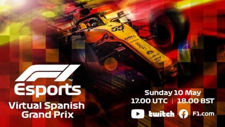 F1 Virtual Series: domenica al via il Gp di Spagna, c'è Aguero
