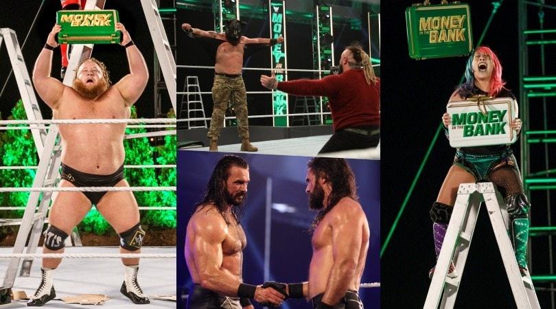 Tutte le immagini di WWE Money in the Bank 2020