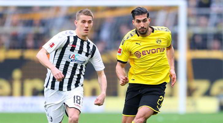 Bundesliga, Borussia Dortmund senza Emre Can e Witsel alla ripartenza