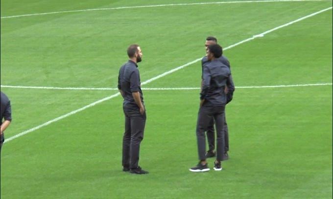 Juve, Higuain è tornato a Torino