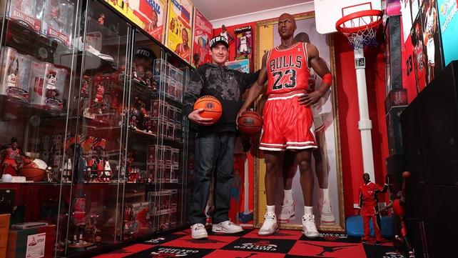 Ecco la più grande collezione di giocattoli su Michael Jordan