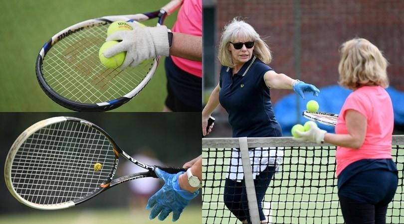 Coronavirus, a Londra riparte il tennis... con i guanti!