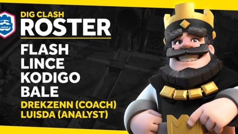 Clash Royale: ecco il nuovo roster dei Dignitas