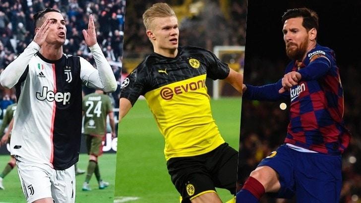 Super Haaland va più forte di Ronaldo e Messi: ecco il nuovo record
