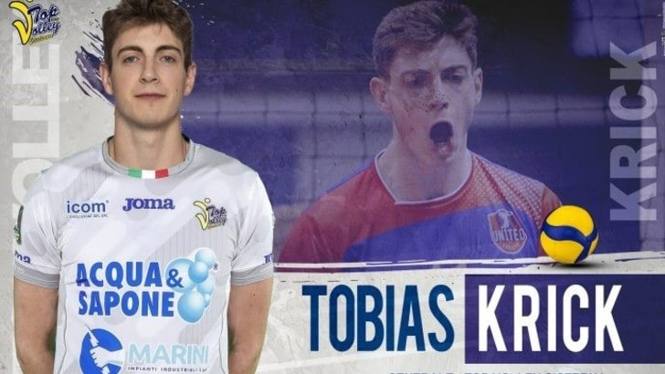 Tobias Krick alza il muro della Top Volley