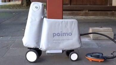 In Giappone l'ultima trovata: arriva lo scooter gonfiabile