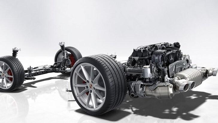 Porsche ed Euro 7: aumenta la cilindrata