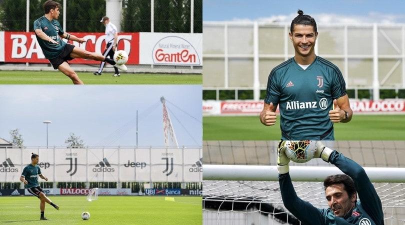 Juve, Ronaldo torna e dà spettacolo. Dybala e Buffon ispirati