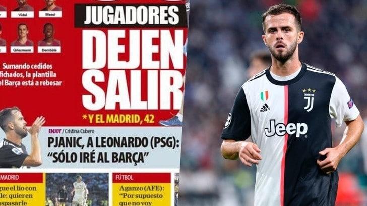 """Mundo Deportivo: """"Juve, Pjanic chiude la porta al Psg: andrà al Barcellona"""""""
