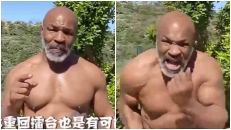 """""""Iron Mike"""" Tyson, fisico pazzesco a 53 anni!"""