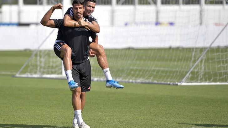 Juve, Khedira su Ronaldo: