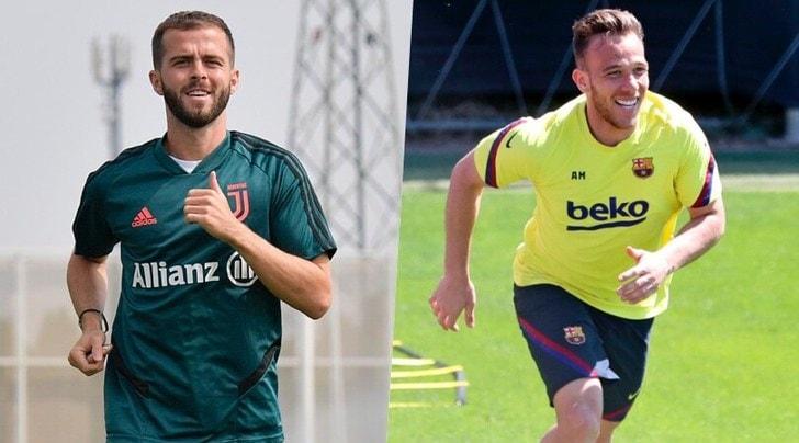 Su Arthur-Pjanic il Barcellona ottimista, la Juve prudente