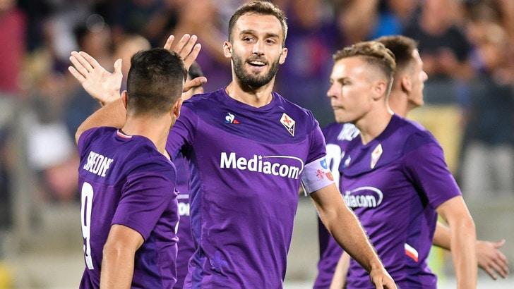 Fiorentina, Pezzella esclusivo: