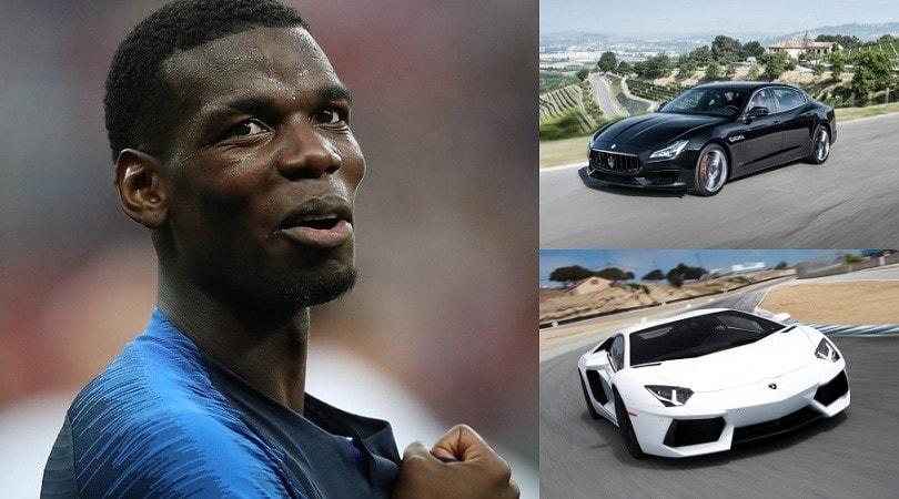 Pogba, passione supercar: le auto del francese FOTO