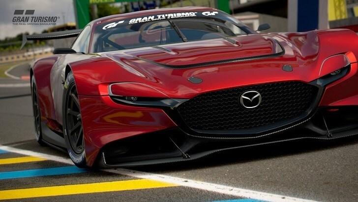 Mazda RX-Vision GT3 Concept: gli scatti