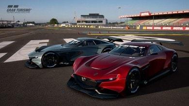 Mazda RX-Vision GT3 Concept, 570 CV per i videogame
