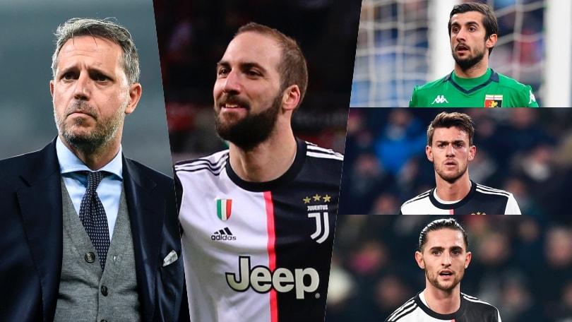 Juve, 11 giocatori sul mercato: Paratici ha una squadra da utilizzare per fare cassa