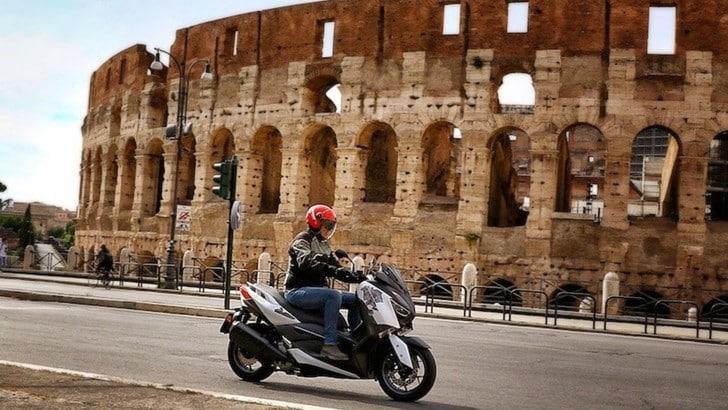 Yamaha XMax 300 'Roma Edition MMXX': il test