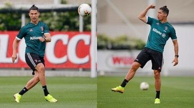 """Juve, Ronaldo show: """"siuuu"""" anche in allenamento!"""
