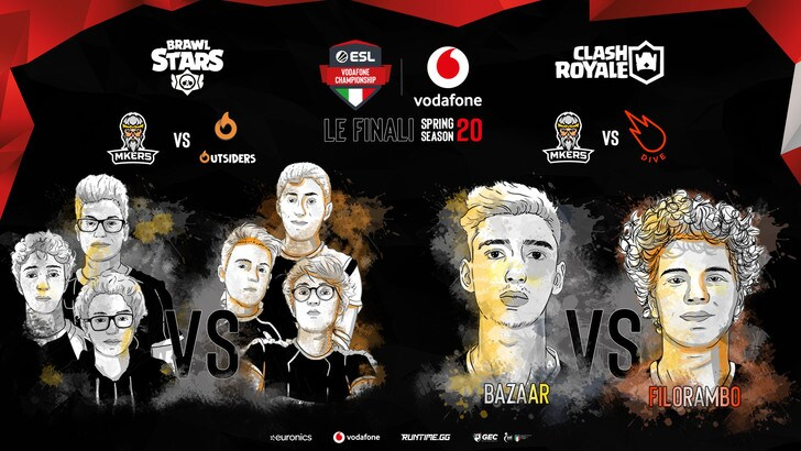 Esl Vodafone Championship: conclusa la Spring Season