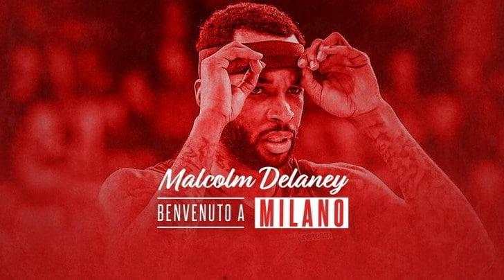 """Olimpia Milano, Delaney: """"Felice ed entusiasta di cominciare questa nuova avventura"""""""