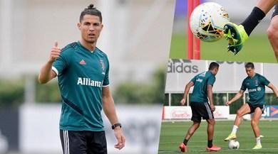 Cristiano Ronaldo, fame di Coppa e i nuovi tacchetti