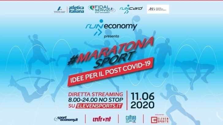 #MaratonaSport, idee per la ripartenza dello sport ai tempi del Covid-19