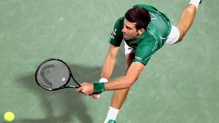 Tennis, Djokovic: