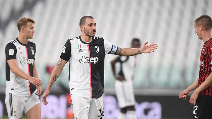 """Juve, Bonucci: """"Il rigore di Ronaldo? Anche i grandi sbagliano"""""""