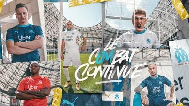 PUMA presenta i nuovi kit home e away dell'Olympique de Marseille